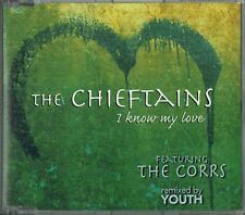 "THE CHIEFTAINS - 5"" CD - I Know My Love (Feat The Corrs) Youth Rhythm Mix 3 Trk"