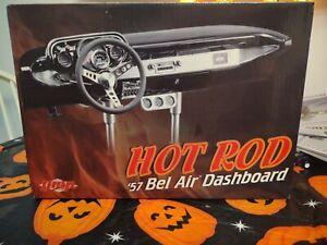VINTAGE 1957 CHEVROLET BEL AIR DASHBOARD BLack GMP 1:6 SCALE HOTROD  BELAIR