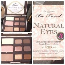TOO FACED Natural Eye Neutral Eye Shadow Collection Palette NIB!