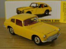 ATLAS NOREV DINKY TOYS HONDA S 800 YELLOW CAR MODEL 1408