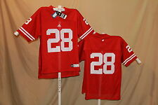 Wisconsin Badgers Adidas #28 Football Jersey Xl Nwt red $65 retail