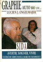 Livre graphie auto bio etc sida Lucien J. Engelmajer  book