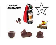 CAPSULAS RECARGABLES REUTILIZABLES RELLENABLES PARA CAFETERAS DOLCE GUSTO