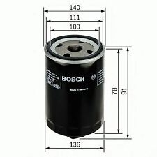 BOSCH ENGINE OIL FILTER OE QUALITY REPLACEMENT 0451103368
