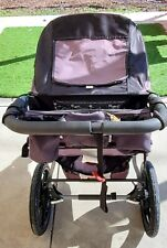 Bob Revolution Se Black Single Jogging Stroller