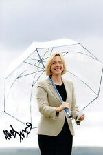 Hazel IRVINE Signed Autograph Sexy TV Golf Presenter 12x8 Photo AFTAL COA