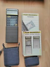 psion organiser 2  with Pocket spreadsheet working
