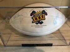 Green Bay Brett Favre & Desmond Howard MVP Signed Super Bowl XXXI Football