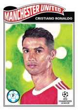 ➠ Topps UCL Living Set | #374 Cristiano Ronaldo - Manchester United (PreOrder)