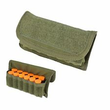 Condor MA12 OD GREEN MOLLE 12 Guage Shotgun Shell Ammo Reload Pouch Holster