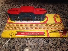 "Vintage Antique Marx Tin Litho ""Union Station"" Train Station"