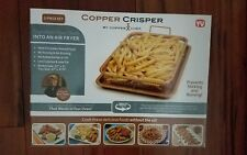 Copper Chef 2-Piece Crisper Oven Kitchen Dining Cookware Tools Grip Tray New