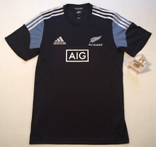 ADIDAS ALL BLACKS PLAYERS PERFORMANCE RUGBY TRAINING SHIRT NEW ZEALAND XL
