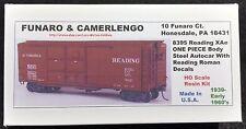 Funaro F&C 8395 READING Autocar RDG XAe Steel ROMAN Lettering 1939-1960s 1-PIECE