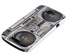 Hülle f HTC One S Schutzhülle Tasche Case Hard Cover Schale Radio Ghettoblaster