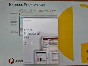 Microsoft Office 2019 Professional Plus for Windows PC USB + Key (Express POST)