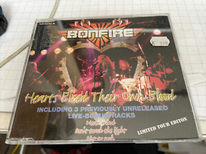 BONFIRE - Hearts Bleed Their Own Blood / Single-CD / Limited Tour Edition