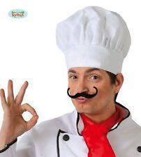 Guirca Cappello da cuoco da adulto in tela halloween carnevale 13011 chef