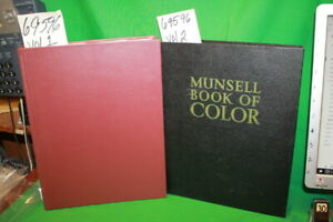 Munsell, A.H. Munsell Book of Color vol. 1 & 2 Defin...