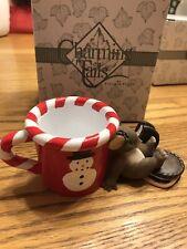 "Charming Tails ""Waiting For Santa"" Fitz & Floyd Christmas. Original Box."