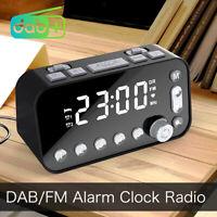 Radiosveglia portatile DAB + FM Dual Timer Dual USB Ports Display LCD