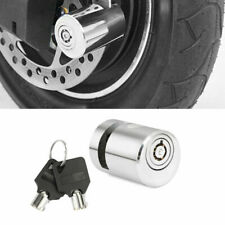 1X Motorcycle Bicycle Scooter SECURITY LOCK Portable Wheel Disc Brake Lock US