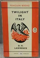 D H. Lawrence / TWILIGHT IN ITALY First Edition 1960