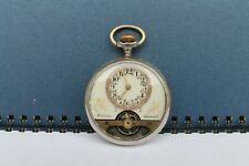 Vintage Old Rare Watch Pocket Men Chronometer Hebdomas