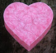100hr COTTON CANDY Scented Love Heart ECO CANDLE MELT for Oil Burner SMALL GIFTS