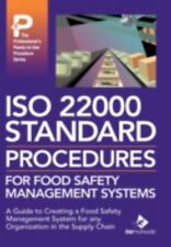 ISO 22000 Standard Procedures for Food Safety Management Systems (Hardback or Ca