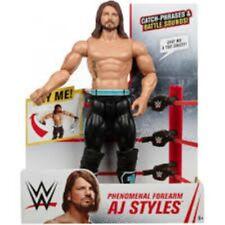 "WWE Phenomenal Forearm AJ Styles Wrestling Figure 12"" Tall"