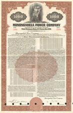 Monongahela Power Company > West Virginia $1000 bond certificate First Energy
