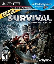 NEW SEALED PS3 Cabela's Survival: Shadows of Katmai Video Game Playstation-3 NEW