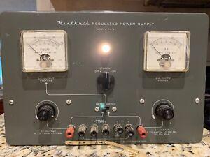 HEATHKIT Vintage PS4 Regulated Power Supply