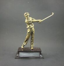 Resin Golf trophy award .Free engraving.
