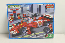 Cogo Racers 3401 F1 Building Block Set