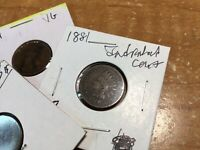 1881 US Indian Head Cent Penny G-VF-ships Free-1 Coin-102920-0075