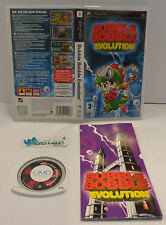 Console Game Gioco UMD Sony Playstation PSP PAL EUR ITA BUBBLE BOBBLE EVOLUTION