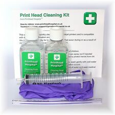 Printer Head Cleaning Kit Unblocks Brother MFC DCP Inkjet Nozzles 100ml Cleaner