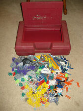 K'Nex - Red Case with over 700 Pieces