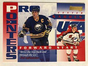 1995-96 Donruss Pro Pointers Pat LaFontaine #2