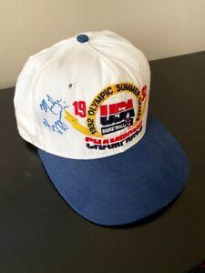 Coach K, Mike Krzyzewski Signed Autographed Dream Team 1992 Olympics Hat