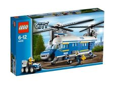 4439 HEAVY-DUTY HELICOPTER lego NEW town CITY legos set police