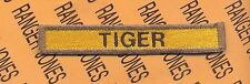 """US Army 10th Armored Division """"TIGER"""" Armor Tank tab patch"""