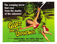 Giant from the Unknown (1958) Edward Kemmer Horror movie poster print