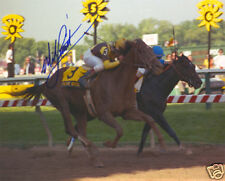 Prairie Bayou 1993 Preakness Stakes Photo 8x10 Signed