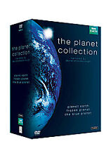The Planet Collection (Blue/Earth/Frozen) DVD New UNSEALED MINOR BOX WEAR