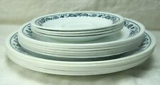 Corning CORELLE Old Town Blue Onion 6 dinner,6 salad plates & 4 saucers