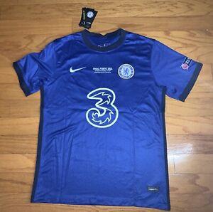 Christian Pulisic 10 Chelsea 20/21 UEFA Champions League Final Football Jersey