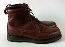 Timberland Men's Brown Leather Boots Size UK 9, EU 43.5, US 9.5W
